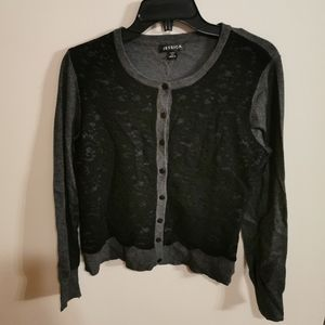 Jessica cardigan with lace vest size S/P